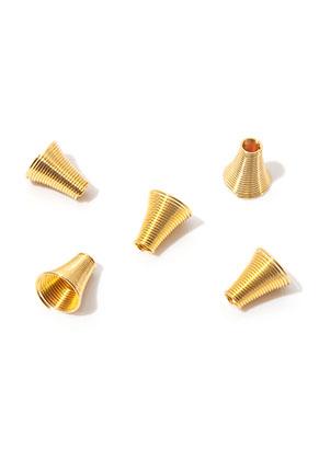 www.snowfall-beads.nl - Metalen kapjes 10x9mm