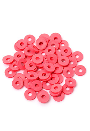 www.snowfall-beads.com - Polymer clay heishi beads 6x1mm (± 320 pcs.)