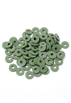 www.snowfall-beads.com - Polymer clay heishi beads 6x1mm (± 320 pcs.)