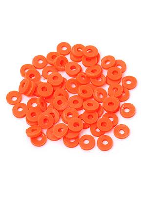 www.snowfall-beads.com - Polymer clay heishi beads 5x1mm (± 330 pcs.)