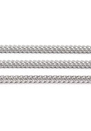 www.snowfall-beads.com - Metal chain with 3mm links - D32176