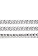 www.snowfall-beads.com - Metal chain with 8,5x5,5mm links - D32192