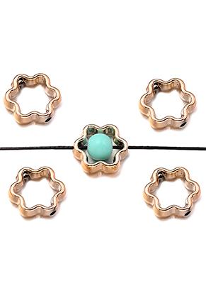 www.snowfall-beads.fr - Perles en metal look anneau 12mm pour perle 5mm