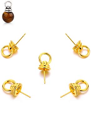 www.snowfall-beads.fr - Pendentifs en métal goupille avec oeillet 20x8mm