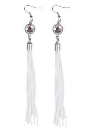 www.snowfall-beads.fr - DoubleBeads Kit de Bijoux boucles d'oreilles avec SWAROVSKI ELEMENTS perles ± 13cm