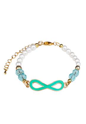 www.snowfall-beads.com - DoubleBeads Jewelry Kit bracelet with SWAROVSKI ELEMENTS beads
