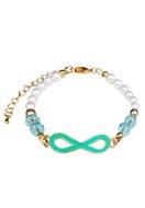 www.snowfall-beads.com - DoubleBeads Jewelry Kit bracelet with SWAROVSKI ELEMENTS beads - DB0607