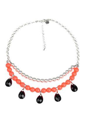 www.snowfall-beads.fr - DoubleBeads Kit de Bijoux collier avec SWAROVSKI ELEMENTS perles