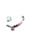 www.snowfall-beads.fr - DoubleBeads Mini Kit de Bijoux Mix & Match cordon ± 9cm avec SWAROVSKI ELEMENTS perles et accessoires diverses de métal (pour combiner avec autres articles DoubleBeads Mix & Match)