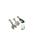 www.snowfall-beads.fr - DoubleBeads Mini Kit de Bijoux Mix & Match breloques oiseau (jeu de 3 pcs) ± 36-42mm avec SWAROVSKI ELEMENTS perles et accessoires de métal (pour combiner avec autres articles DoubleBeads Mix & Match)