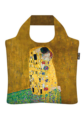 www.snowfall-beads.de - Ecozz Eco Shopper The Kiss (Gustav Klimt 1908-1909)
