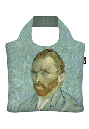 www.snowfall-beads.nl - Ecozz ecoshopper Self-Portrait (Vincent van Gogh 1889)