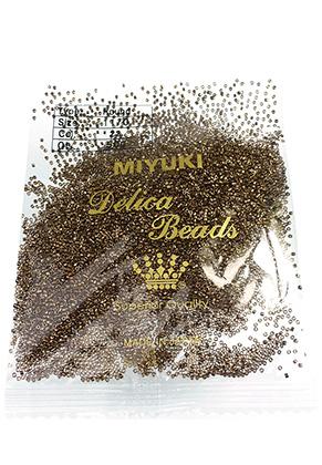www.snowfall-beads.com - Miyuki Delica glass seed beads 11/0 1,6x1,3mm DB0022 (10000 pcs.)