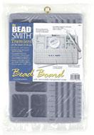 www.snowfall-beads.com - Beadsmith mini bead board with cover 27x18x1,5cm - E00485