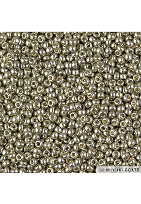 www.snowfall-beads.com - Miyuki glass seed beads 11/0 2x1,4mm 4221 (± 5500 pcs.)