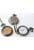 www.snowfall-fashion.es - Collar de metal 77cm con reloj 68x46mm