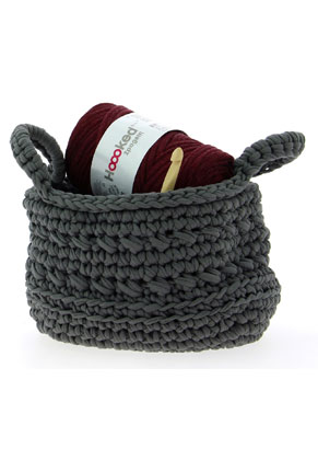 www.snowfall-beads.com - Hoooked DIY Crochet kit Zpagetti basket Revisto