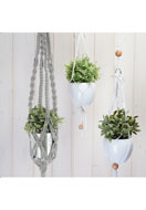 www.snowfall-beads.co.uk - Hoooked DIY macrame kit Zpagetti plant hanger - E01303