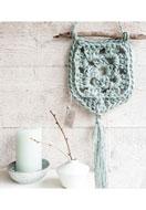 www.snowfall-beads.es - Hoooked kit de ganchillo DIY Colgador de pared Elx Jute - E01304