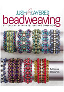 www.snowfall-beads.fr - Livre Lush & Layered Beadweaving (Marcia Balonis) - E01366