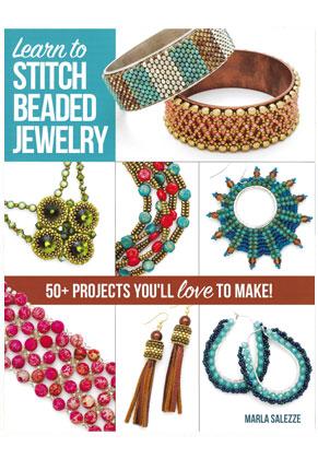 www.snowfall-beads.com - Book Learn to Stitch beaded jewelry (Marla Salezze)