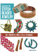 www.snowfall-perles.be - Livre Learn to Stitch beaded jewelry (Marla Salezze) - E01367