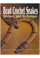 www.snowfall-beads.com - Book Bead Crochet Snakes (Adele Rogers Recklies) - E01369
