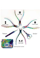 www.snowfall-beads.com - Beadsmith Chroma™ 6-piece tool set/set of pliers - E01374