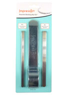 www.snowfall-beads.com - ImpressArt Bracelet bending bar kit™ for bending bracelets - E01375