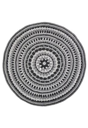 www.snowfall-beads.co.uk - Hoooked DIY crochet kit Island Rug RibbonXL