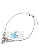 www.snowfall-beads.com - DoubleBeads Jewelry Kit Magician necklace ± 54-61cm, with SWAROVSKI ELEMENTS - E01629