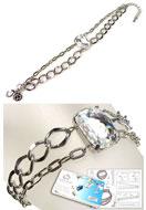 www.snowfall-beads.nl - DoubleBeads Sieradenpakket Shine Bright armband, binnenmaat ± 17-22cm, met SWAROVSKI ELEMENTS - E01717
