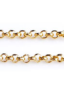 www.snowfall-beads.es - Cadena de metal con eslabones 2mm - E02050