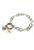 www.snowfall-beads.co.uk - DoubleBeads Mini Jewelry Kit EasyClip bracelet ± 19,5cm with SWAROVSKI ELEMENTS