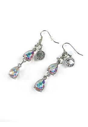 www.snowfall-beads.fr - DoubleBeads Mini Kit de Bijoux boucles d'oreilles ± 6cm avec SWAROVSKI ELEMENTS