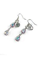 www.snowfall-beads.de - DoubleBeads Mini Schmuckpaket Ohrringe ± 6cm mit SWAROVSKI ELEMENTS - E02515
