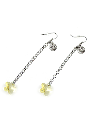 www.snowfall-beads.fr - DoubleBeads Mini Kit de Bijoux boucles d'oreilles ± 8cm avec SWAROVSKI ELEMENTS