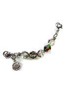 www.snowfall-beads.es - DoubleBeads Minikit de Joyería Mix & Match hebra ± 9cm con SWAROVSKI ELEMENTS - E02596