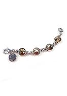 www.snowfall-beads.es - DoubleBeads Minikit de Joyería Mix & Match hebra ± 9,5cm con SWAROVSKI ELEMENTS - E02602