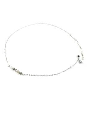 www.snowfall-beads.nl - DoubleBeads Mini Sieradenpakket halsketting ± 50-59cm met SWAROVSKI ELEMENTS
