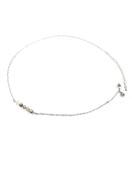 www.snowfall-beads.be - DoubleBeads Mini Sieradenpakket halsketting ± 50-59cm met SWAROVSKI ELEMENTS - E02631