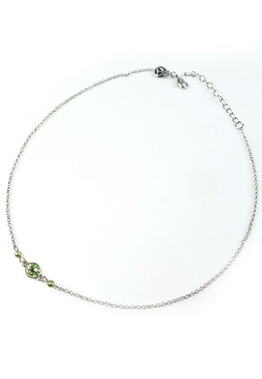 www.snowfall-beads.nl - DoubleBeads Mini Sieradenpakket halsketting ± 43-50cm met SWAROVSKI ELEMENTS