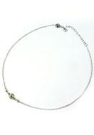 www.snowfall-beads.be - DoubleBeads Mini Sieradenpakket halsketting ± 43-50cm met SWAROVSKI ELEMENTS - E02639