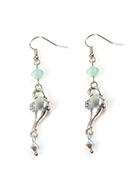 www.snowfall-beads.fr - DoubleBeads Mini Kit de Bijoux boucles d'oreilles lampe à huile ± 6cm avec SWAROVSKI ELEMENTS - E02862