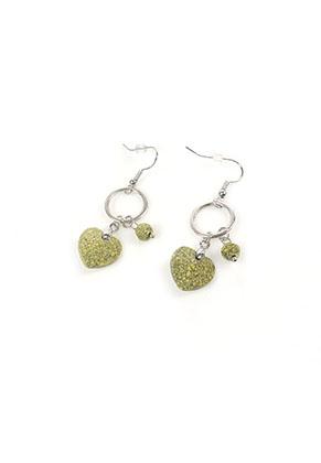 www.snowfall-beads.nl - DoubleBeads Mini Sieradenpakket oorbellen ± 5cm met SWAROVSKI ELEMENTS