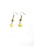 www.snowfall-beads.nl - DoubleBeads Mini Sieradenpakket oorbellen ± 4cm met SWAROVSKI ELEMENTS