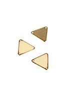 www.snowfall-beads.be - Metalen hangers/tussenzetsels driehoek 18x20mm - E03118