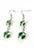 www.snowfall-perles.be - DoubleBeads Mini Kit de Bijoux boucles d'oreilles 6cm avec SWAROVSKI ELEMENTS