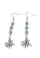 www.snowfall-perles.be - DoubleBeads Mini Kit de Bijoux boucles d'oreilles 6,5cm avec SWAROVSKI ELEMENTS - E03134