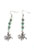 www.snowfall-perles.be - DoubleBeads Mini Kit de Bijoux boucles d'oreilles 6,5cm avec SWAROVSKI ELEMENTS